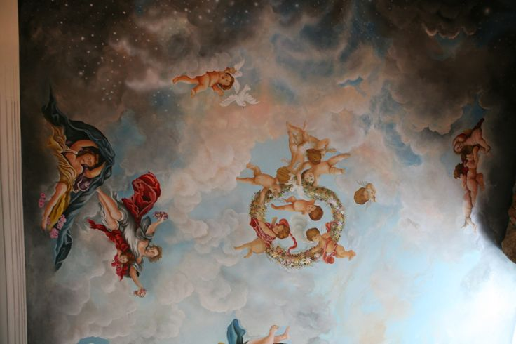 project 3D decorative &painting ceiling step by step by Joseph A. Youssef.   www.jescoart.gr