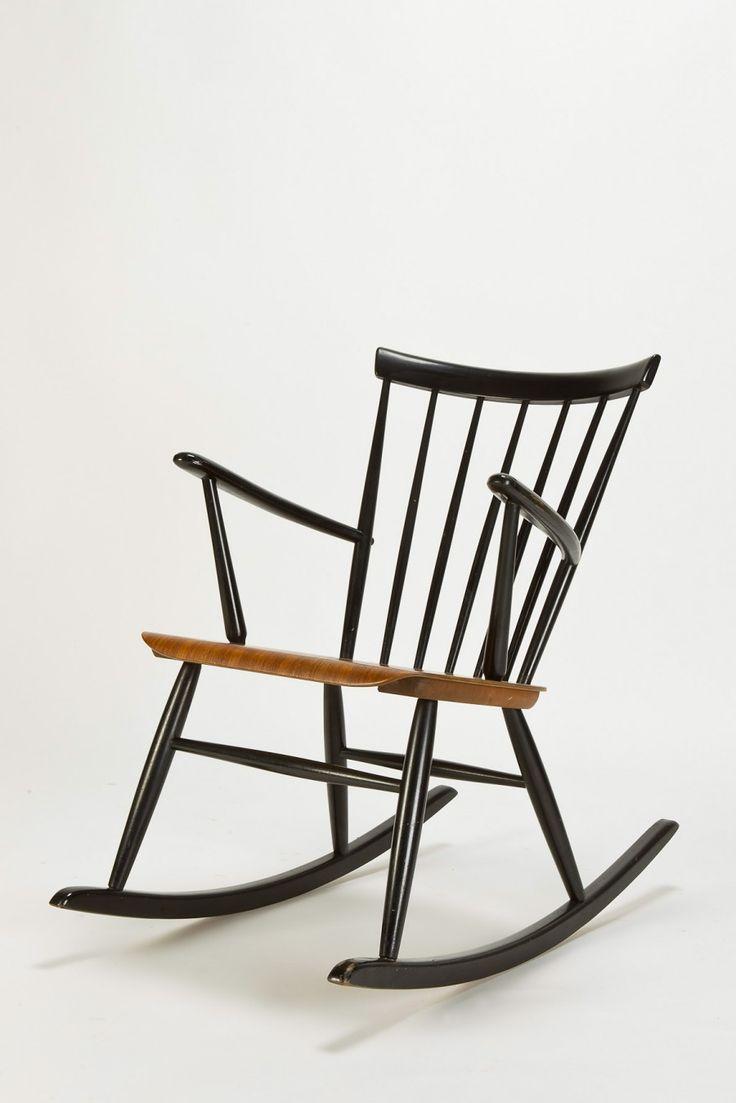 Exceptional Roland Rainer Rocking Chair