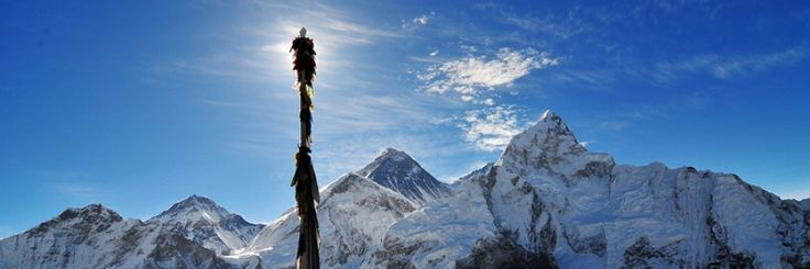 Everest 8,848m highest mountain in the world.