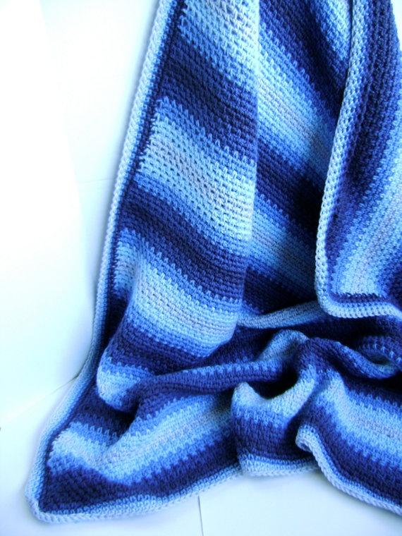 Crochet Baby Blanket Pattern Grey Gardens by sheilalikestoknit