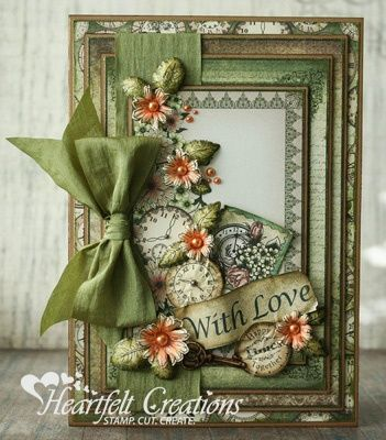 "Timeless Love card size is 5-1/8"" X 7-1/8"". Directions and List of products used is on website"