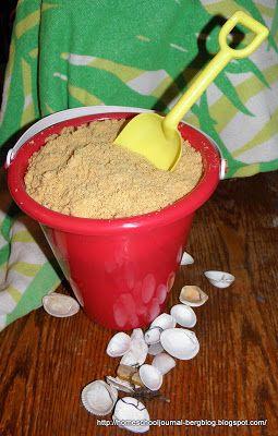 Household Ways: Edible Sand Dessert