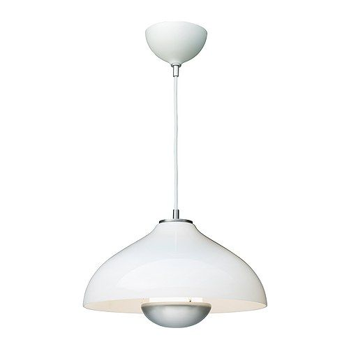 MÅNLJUS Pendant lamp IKEA Adjuster; easy to regulate so the shade hangs straight. Diffused light; gives a general light.