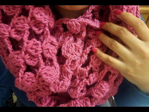 251 best CUELLOS,BUFANDAS. images on Pinterest | Bufandas, Crochet ...
