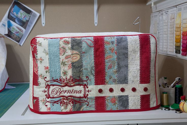 Bernina Sewing Machine Covers More beautiful work by CJ