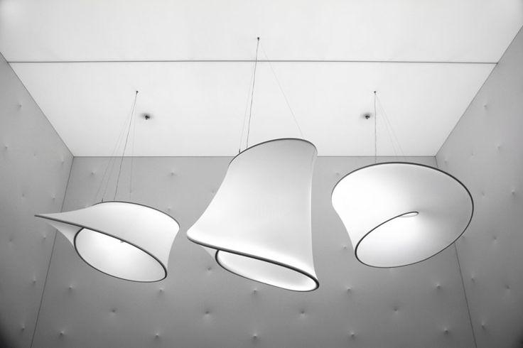 ross lovegrove barrisol infinite loop designboom #lighting