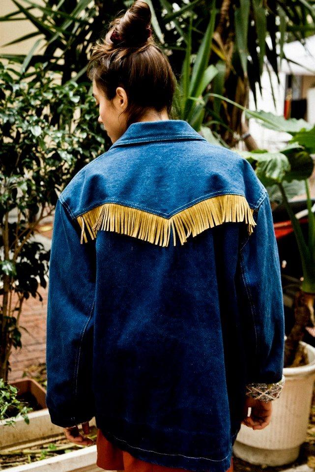 indian denim jacket