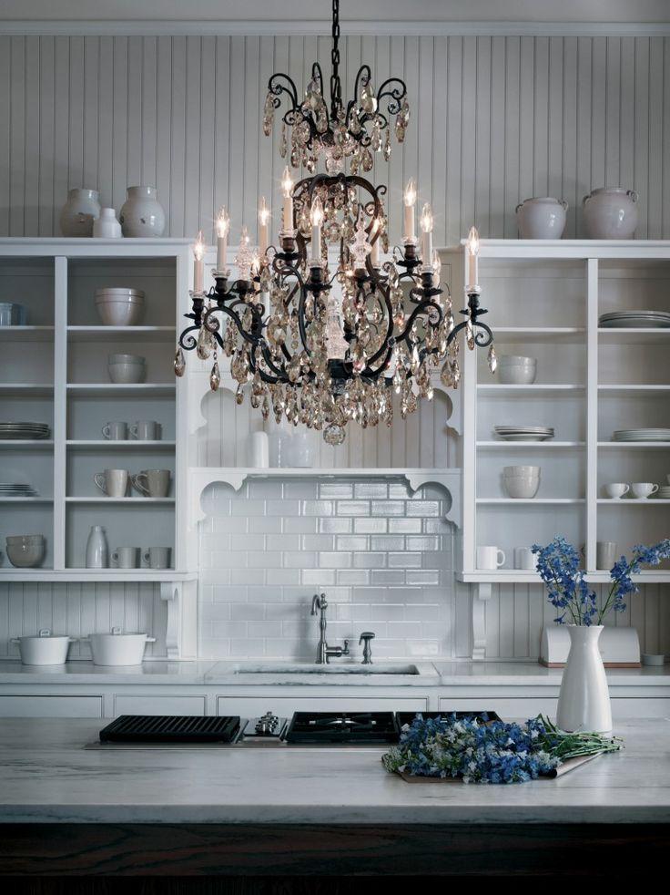 Elegance And Crystals Renaissance Chandelier With Swarovski By Schonbek