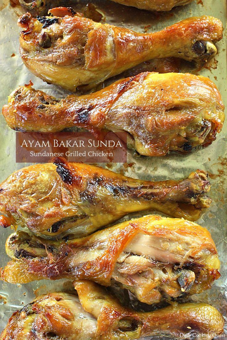 Ayam Bakar Sunda – Sundanese Grilled Chicken