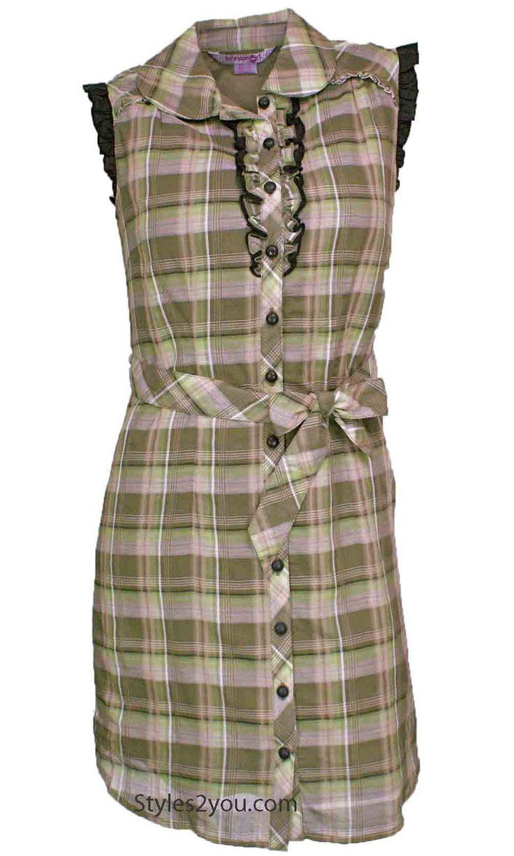Francesca Shirt Dress In Plaid#gorgeous #beyourself #inspiration #unique #boutique #vintage #lace #hi #womenclothing  #love #pretty #girl #selfie #fashion #beyourself #online