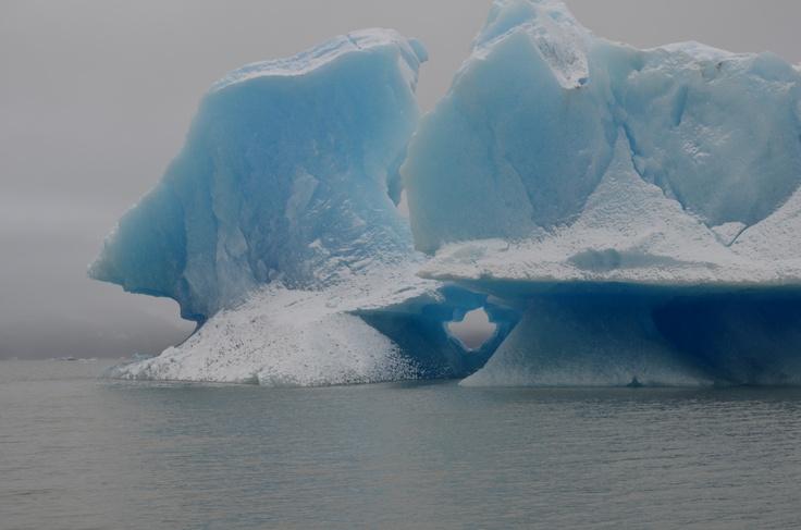 Témpano del lago Grey, Chile.