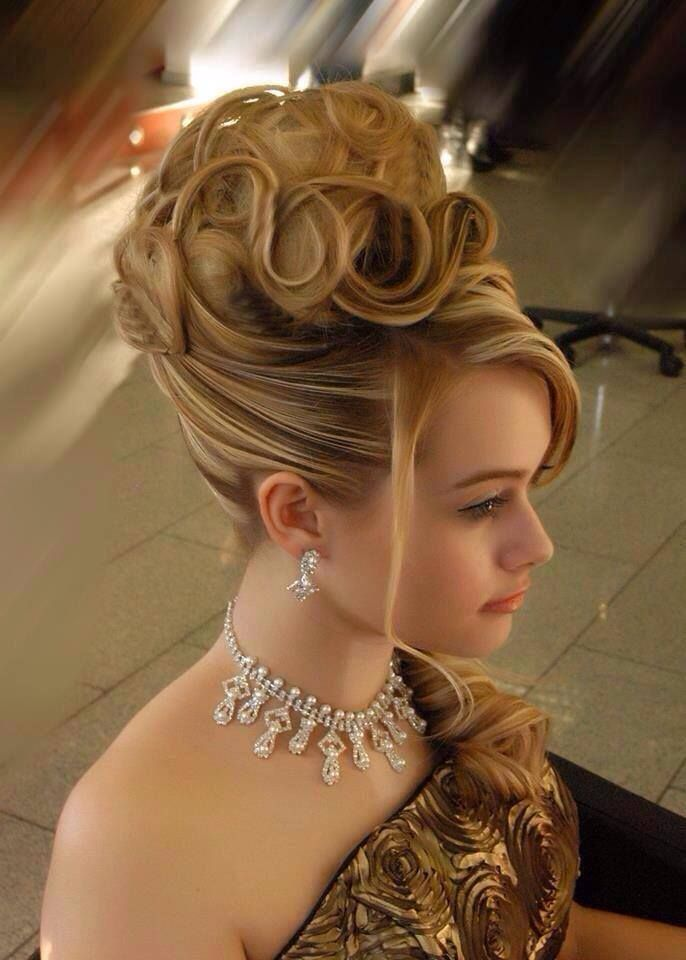 Gorgeous Hairstyle Hair Spotting Pinterest Updo