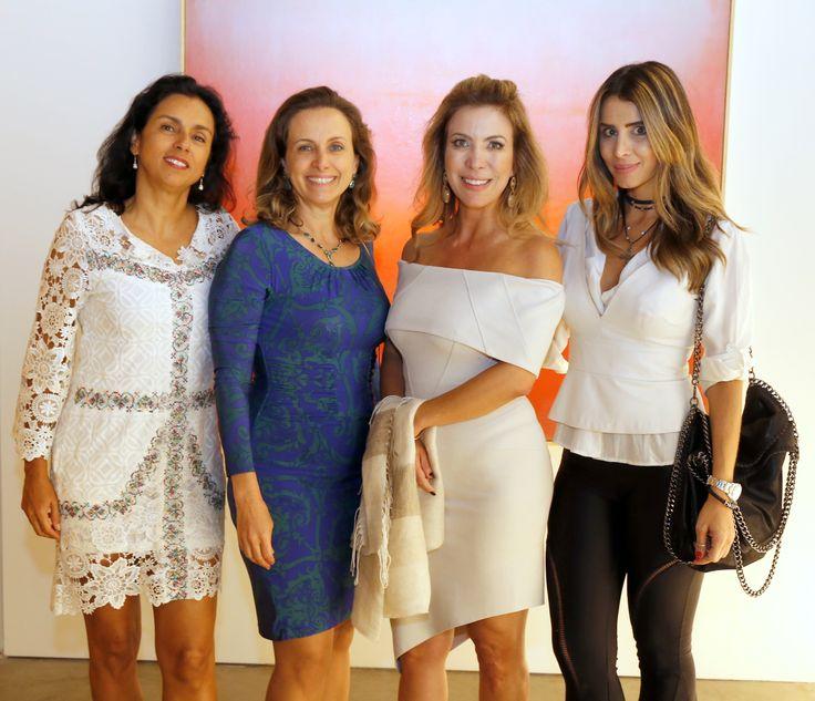 Isabel Gamboa Gangl, Helena Bruzzi, Junia Moreira e Fernanda Farah