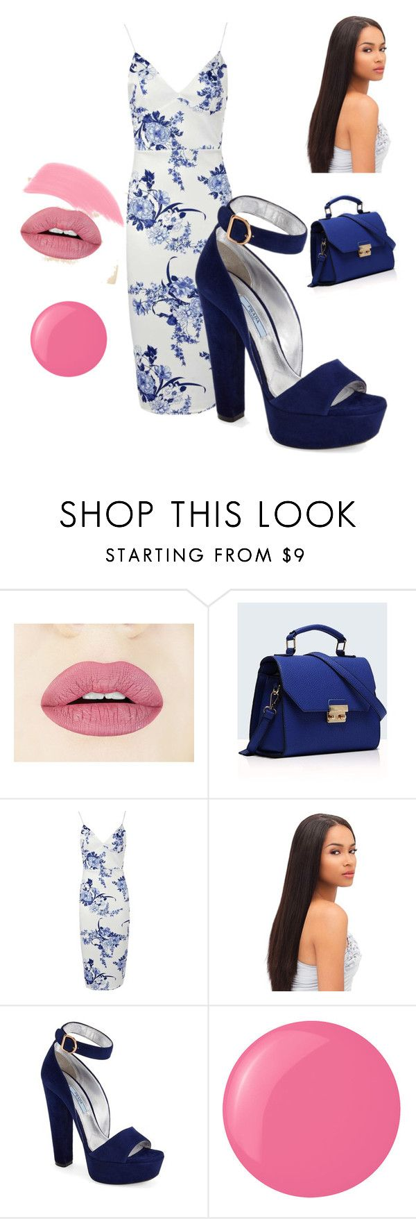 """""""Numero Diez"""" by dhaira ❤ liked on Polyvore featuring Relaxfeel, Prada, Essie and Stila"""