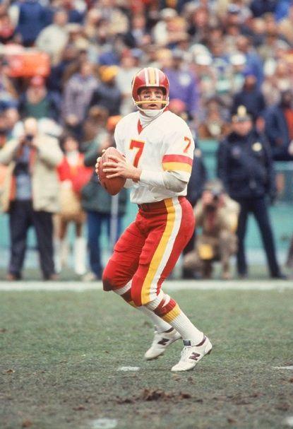 #7 Joe Theismann Washington Redskins