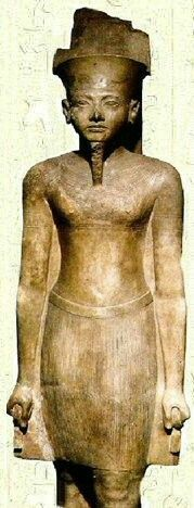 Pharaoh Amenhotep III of Egypt. •Museum of Luxor•