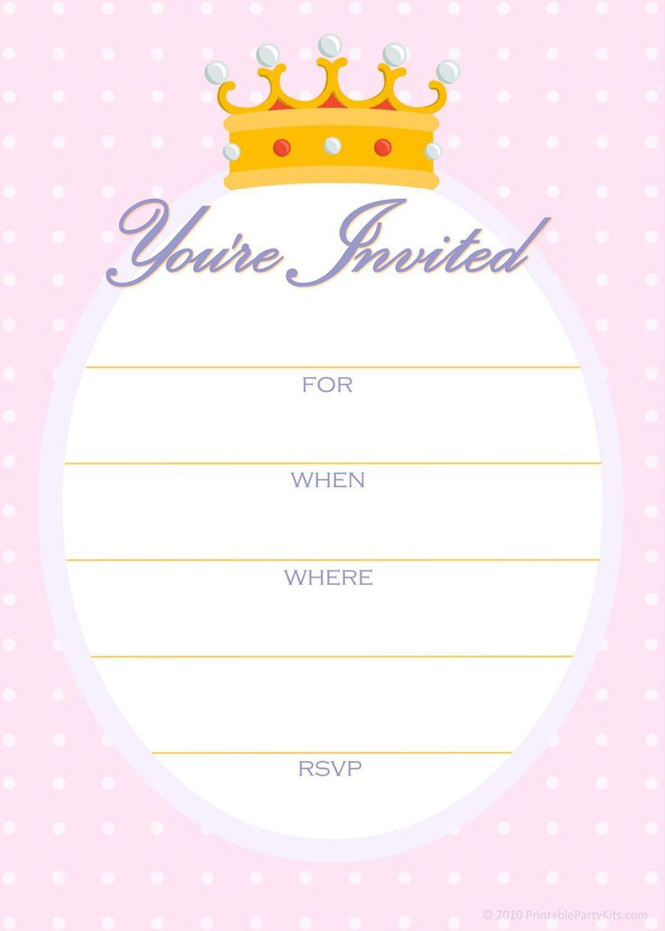 invitations for birthday party templates