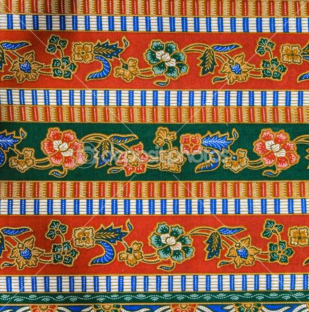 Maleisië batik patroon — Stockbeeld #32483685