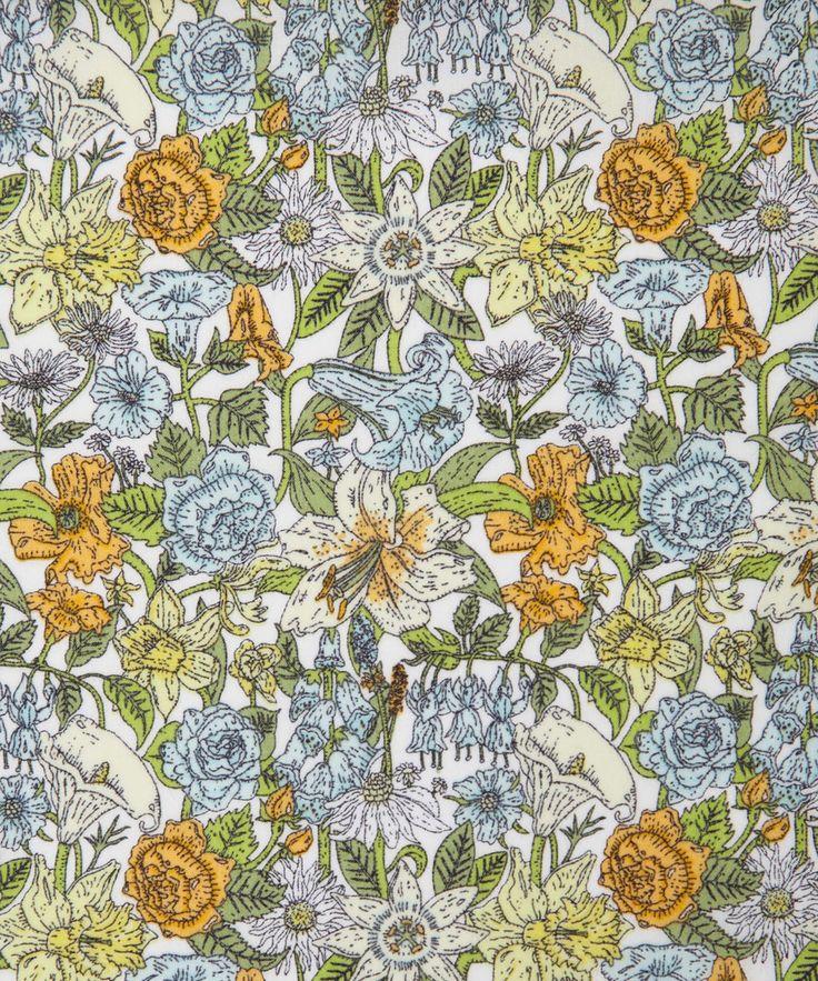 Liberty Art Fabrics Phyllis C Tana Lawn | Tana Lawn by Liberty Art Fabrics | Liberty.co.uk