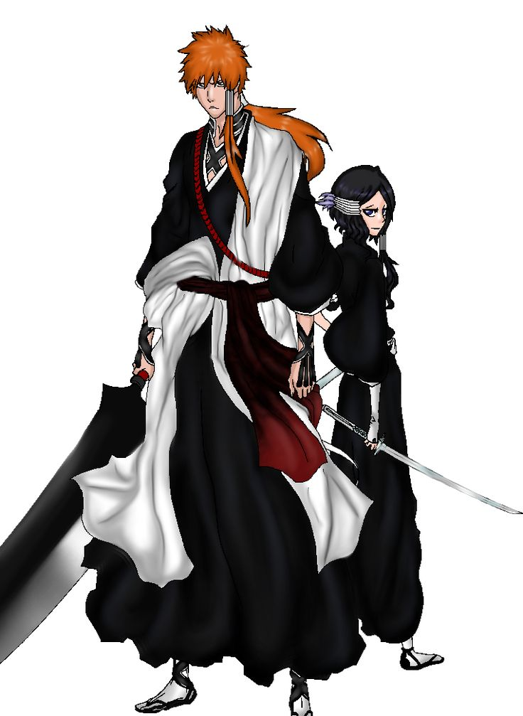 Rukia and Ichigo- When the future comes ... by DarkLordLuzifer  Ichigo Kurosaki as the commander of the 8. company. Ichigo defeated Yhwach, he was nominated as the commander by Shunsui Kyouraku. Than Rukia and Ichigo married and Ichigo change his Name in Ichigo Kuchiki.  Design and Draw by me Characters by Tite Kubo Base: Rukia and Ichigo  Fanfiction and Idea by me