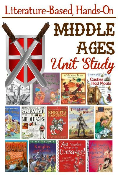 Our elementary medieval unit study was packed full of fun and learning.  Books, resources and great project ideas included.