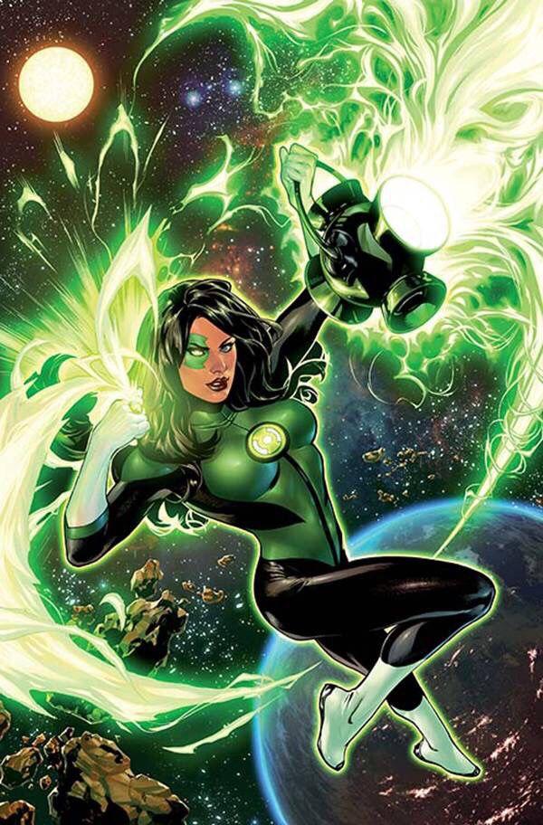 Jessica Cruz - Green Lantern Rebirth