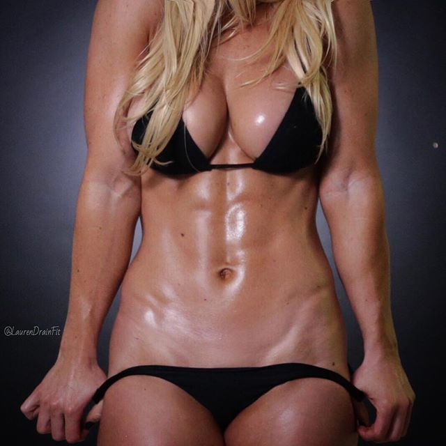 Fitness abs girl models