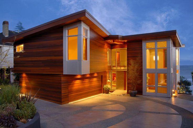 West Coast Modern Beach House