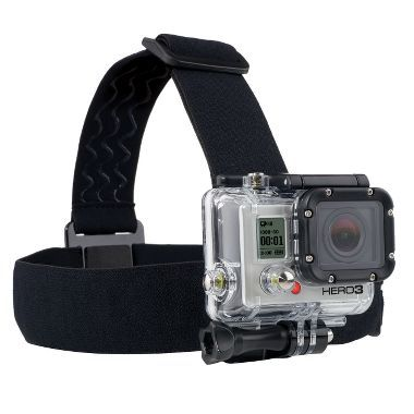 GoPro® Head Strap Mount. Forget Everest. I want to remember my kids growing up.