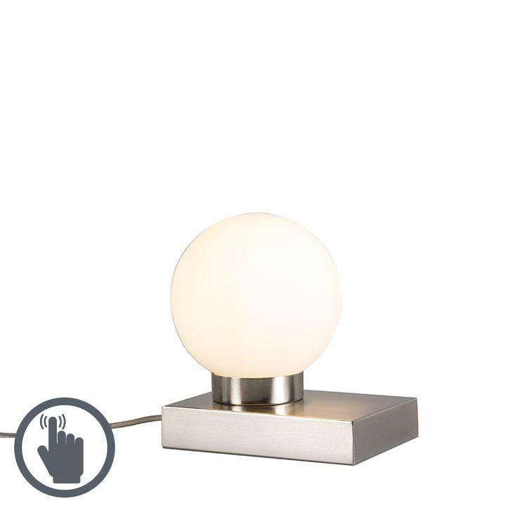 Tischleuchte Stol stahl rund mit Touchfunktion Jetzt bestellen unter: https://moebel.ladendirekt.de/lampen/tischleuchten/beistelltischlampen/?uid=9e148215-f476-59db-bd1b-0b6356c07db0&utm_source=pinterest&utm_medium=pin&utm_campaign=boards #lampen #tischleuchten #modern #beistelltischlampen Bild Quelle: www.lampenundleuchten.de