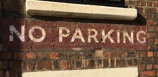 Sign Siren: No parking
