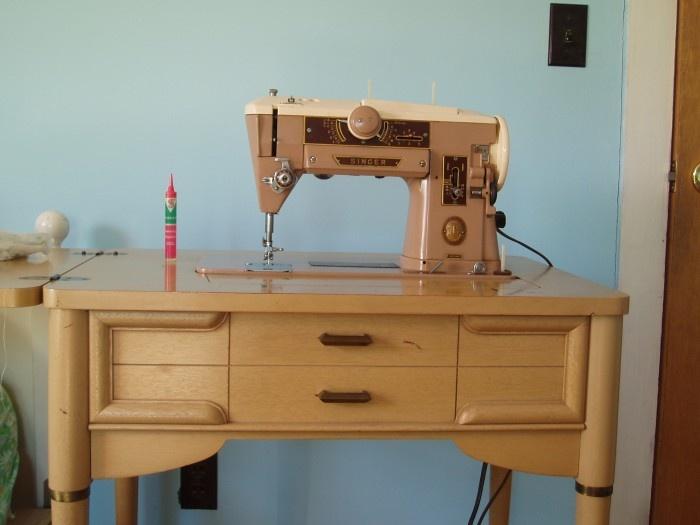 singer sewing machine 1960 models