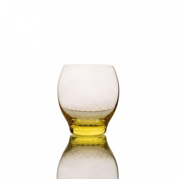 PRODUCTS :: LIVING AND DESIGN :: Kitchen :: Glasses :: Sera-Irida бокал для воды (Citrin-желтый)