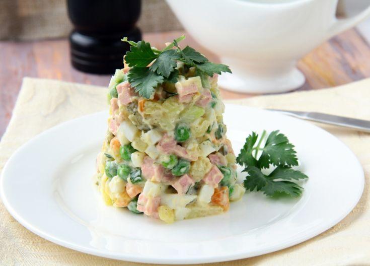 Rýchly šalát s majonézou