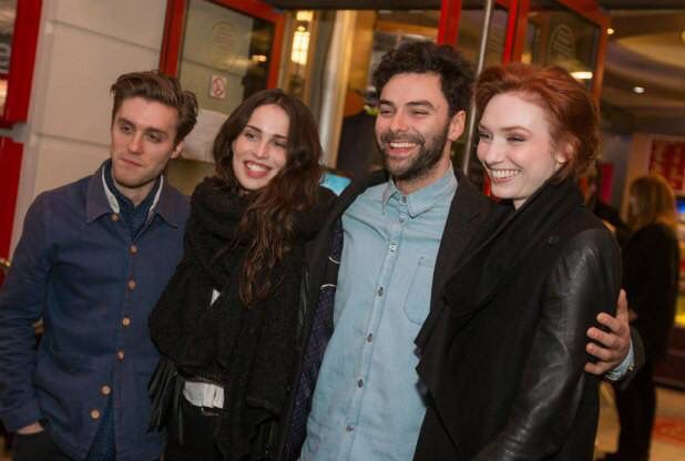 Jack Farthing, Heida Teed, Aidan Turner And Eleanor Tomlinson
