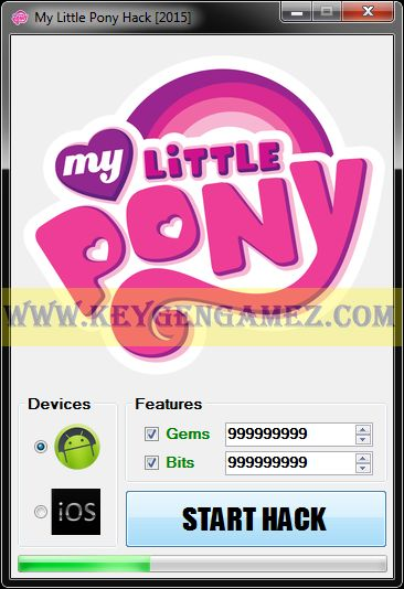 Are you looking for My Little Pony Hack? If the answer is YES, you've got in the right place. Between time, you will find out very quickly how to add as many Gems and Bits you want with My Little Pony Hack Tool for My Little Pony video game.