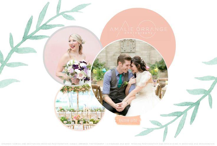 Orlando  Wedding  Photography - Photographer Amalie Orrange Engagement and Wedding Photography for the stylish & unique couple - Welcome