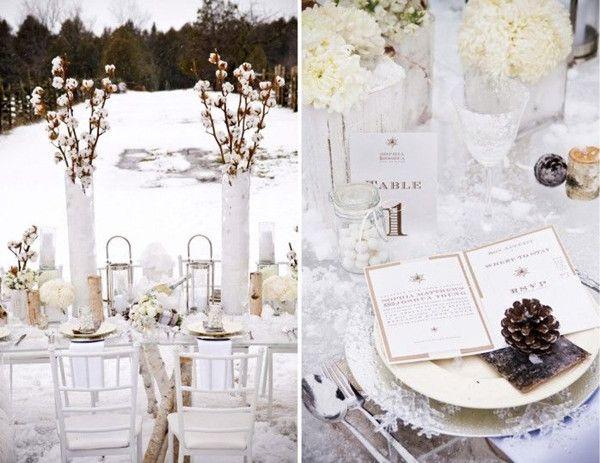 winter hochzeit mit dem romantischen märchen thema | blog, Einladung