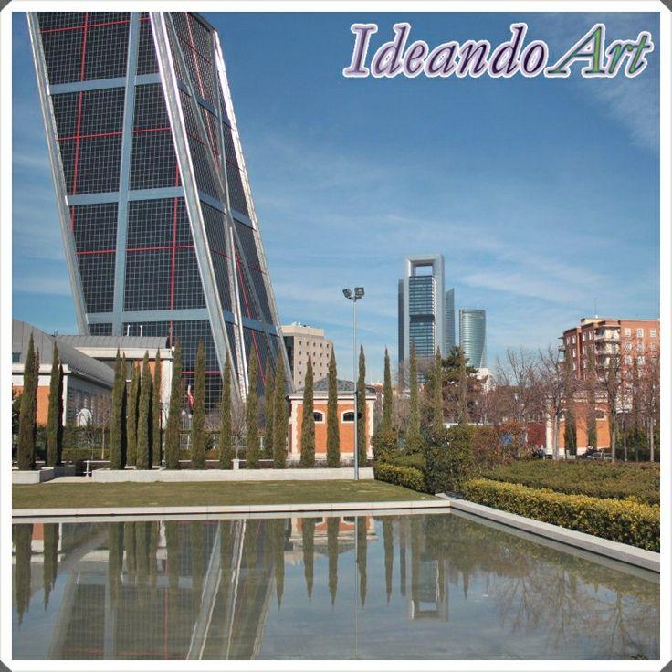 Canal de Isabel II en Madrid by IdeandoArt