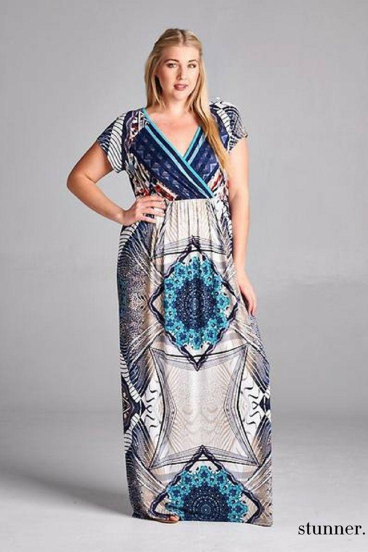 57 Best Colorful Maxi Dresses Images On Pinterest Plus Size