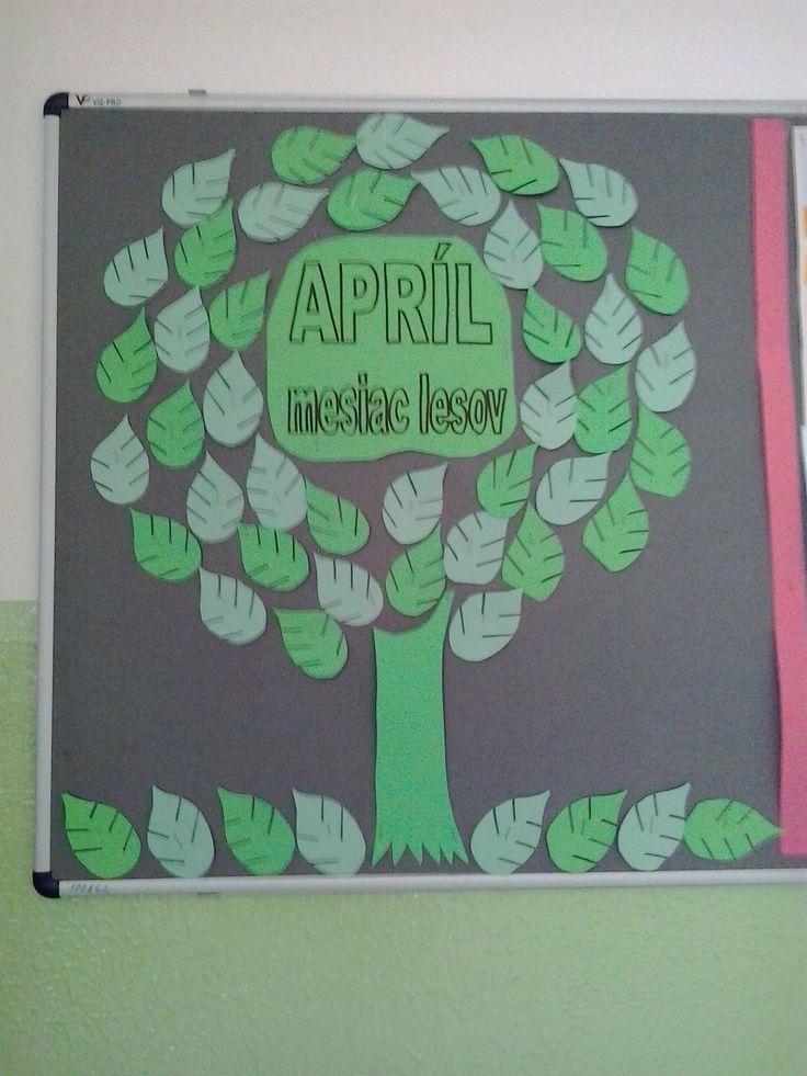 Apríl - mesiac lesov