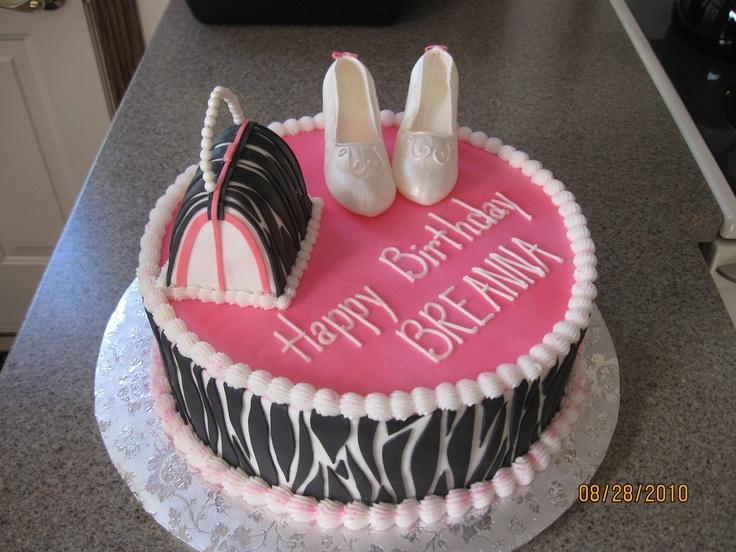 17th bday cake