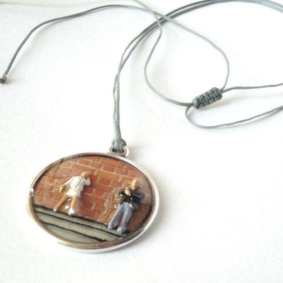 Resin pendant contemporary pendant adjustable pendant by CloJour