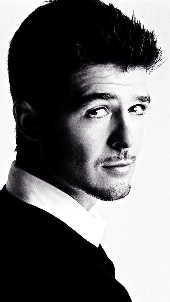 I have a little bit of a thing for Robin Thicke