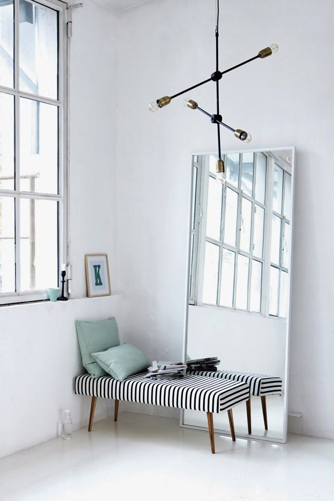 love the bench from House Doctor ♡