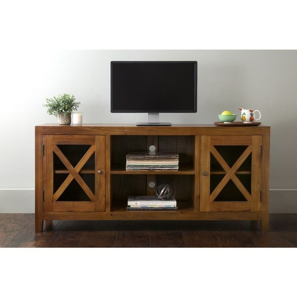 East At Main's Sedgewood Brown Mahogany TV-Stand