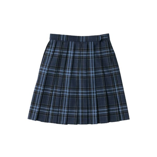 School Skirt (ARCS-1021) (W66) ARCS-1021 arCONOMi Apparel ($82) ❤ liked on Polyvore featuring skirts, bottoms, clothing - skirts, delete and blue skirt