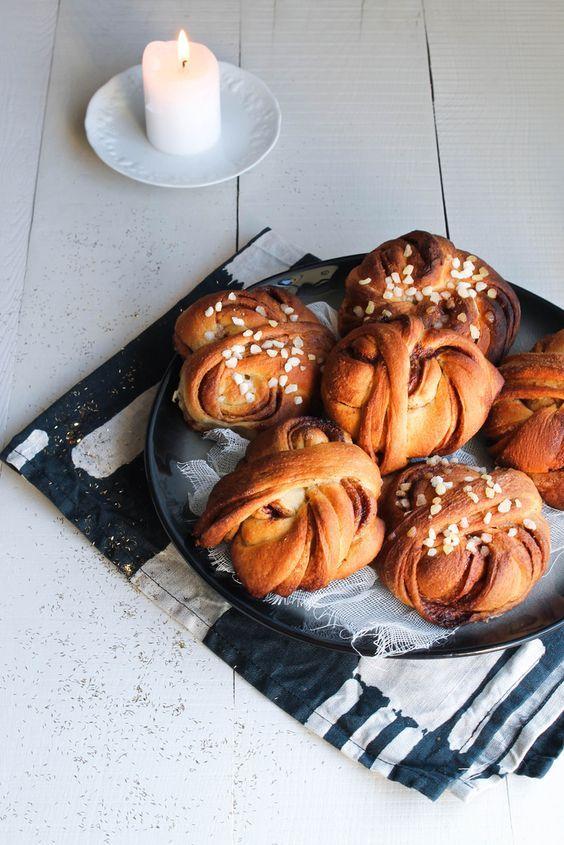 Cinnamon rolls {vegan} - aime & mange: