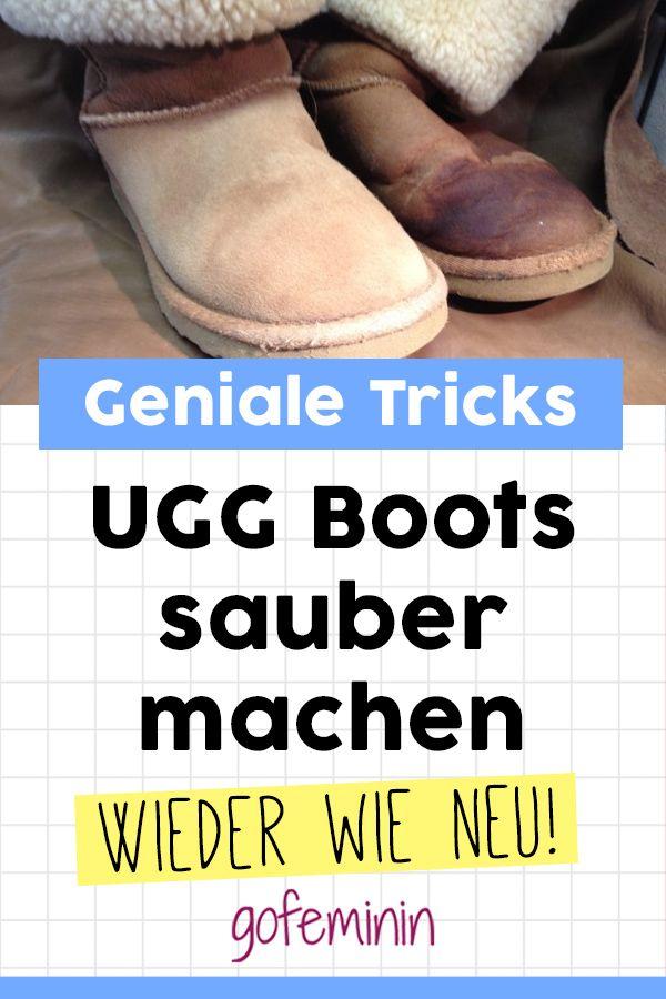 UGG Boots sauber machen: Die besten Tricks