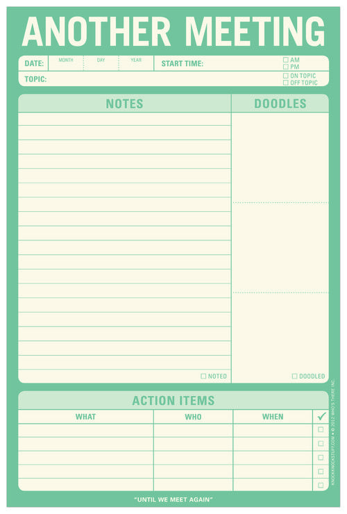 144 best Copy Cat images by Judy Stainbrook on Pinterest Sticky - meeting note pad